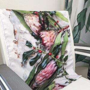 Protea Tea Towel (Festive Flora)