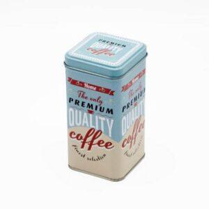 Blue Tin Premium Quality Coffee Print