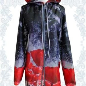 Red Poppy Raincoat